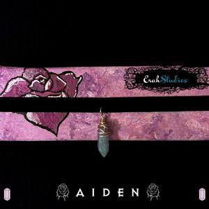 AIDEN ~ Dainty Crystal Choker